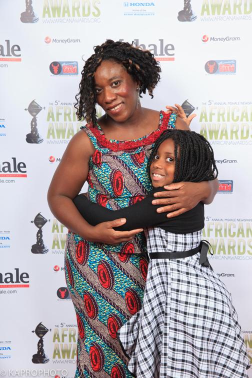 Decontee Kofa and Daughter