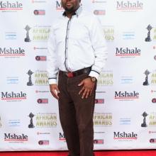 Gentleman at African Awards Red Carpet