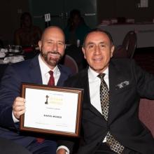 David Morse and Rick Aguilar
