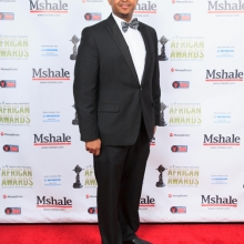 A Gentleman at Mshale African Awards Gala