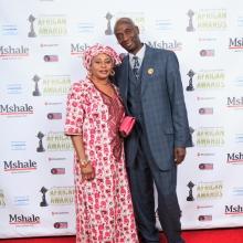 Lamin Dibba and Wife Awa