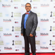 Leon Rodrigues at African Awards Red Carpet
