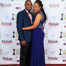 Lovely Couple at African Awards