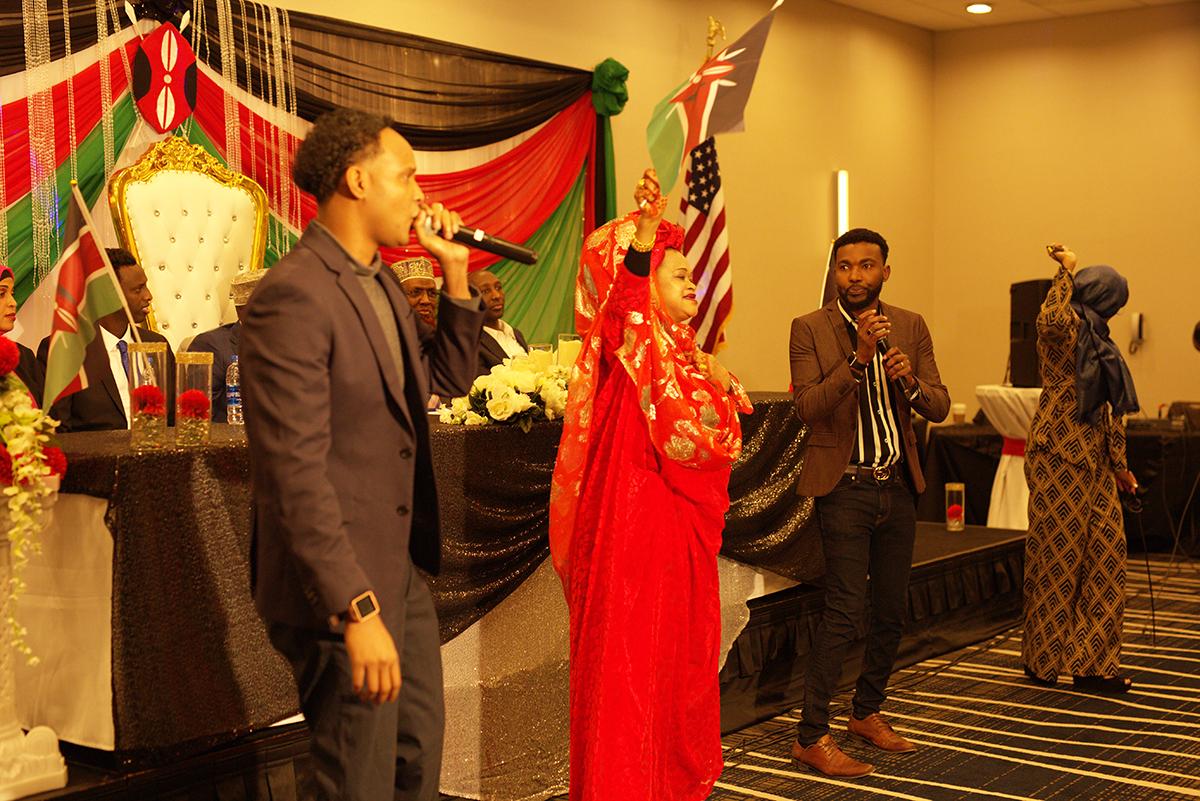 Entertaining Hon. Aden Duale in Minneapolis on January 25, 2020
