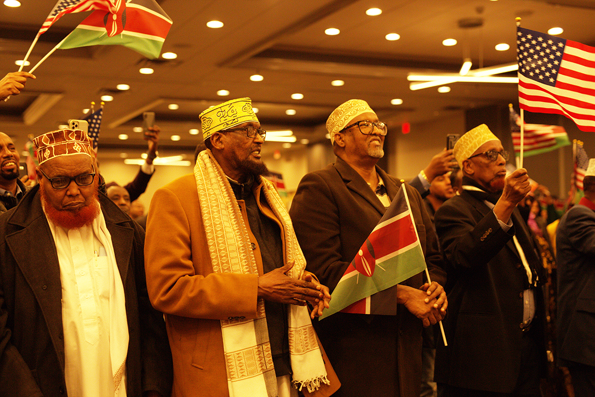 Hon. Aden Duale Audience in Minneapolis on January 25, 2020