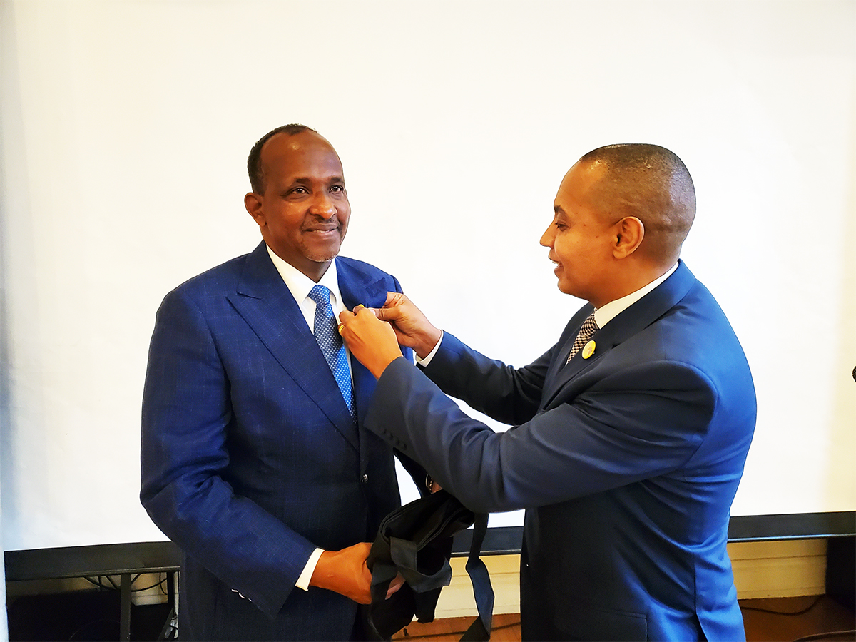 Hon. Aden Duale at Books for Africa Breakfast on January 25, 2020