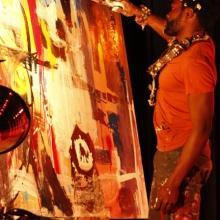 Painter at Seun Kuti Concert