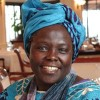 2004 Nobel Peace Prize Laureate, Dr. Wangari Maathai, in Minneapolis March 13 for Peace Festival