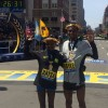 Ethiopians sweep Boston Marathon