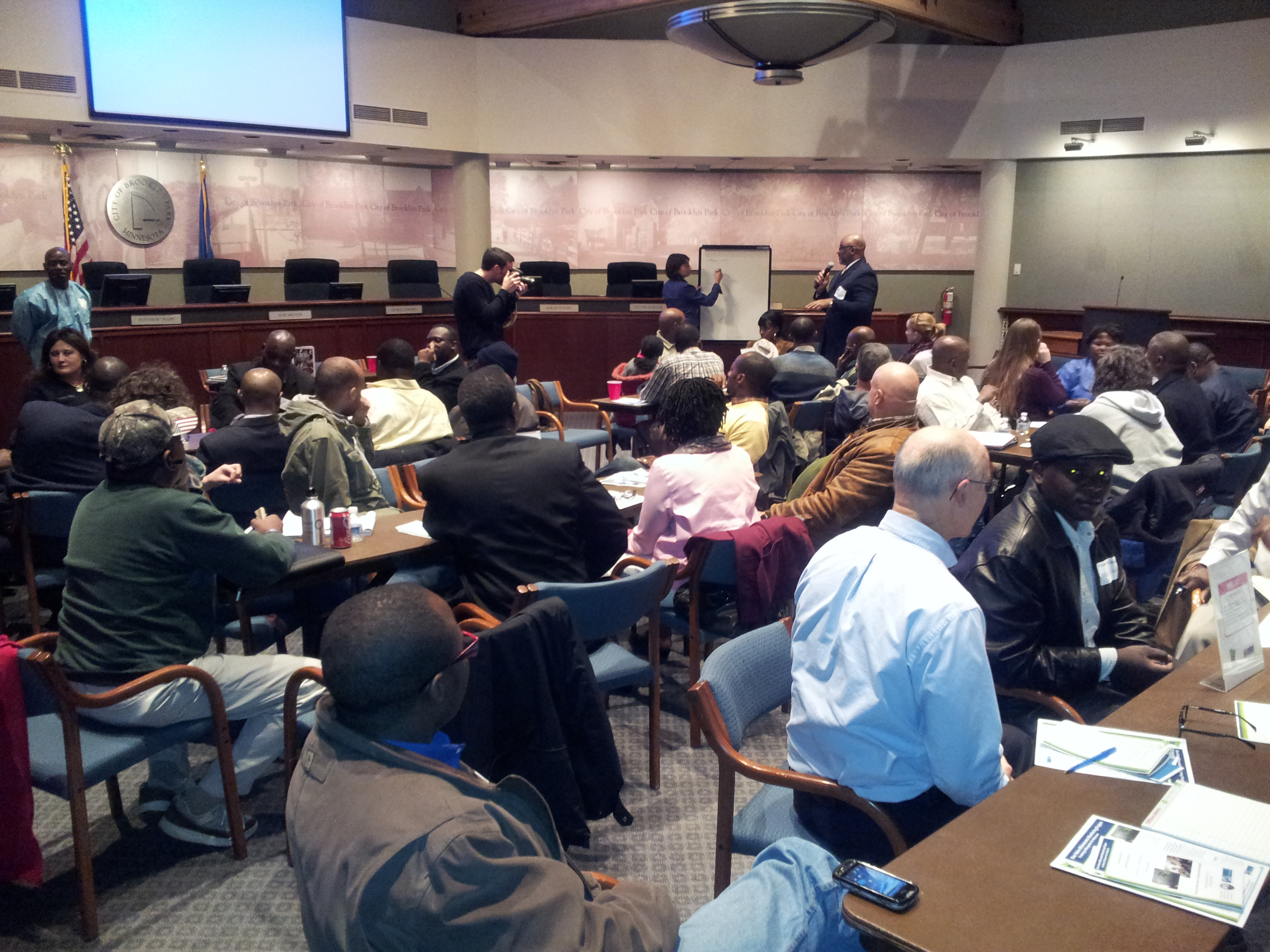 "African Community ""Conversation on Civic Engagement"" in Twin Cities' northwest suburbs"