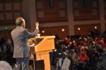 Hassan Sheikh Mohamud speaking