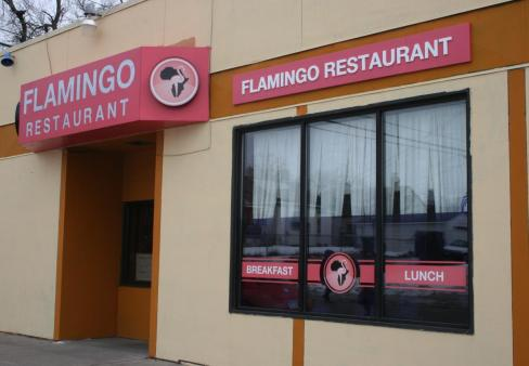 Flamingo Restaurant in St. Paul, Minnesota owned by Ethiopian refugees Shegitu Kebede and Frewoini Haile has been able to rebound from a power surge that nearly shut them down thanks to unprecedented community support to keep them in business. Photo: Courtesy of TC Daily Planet