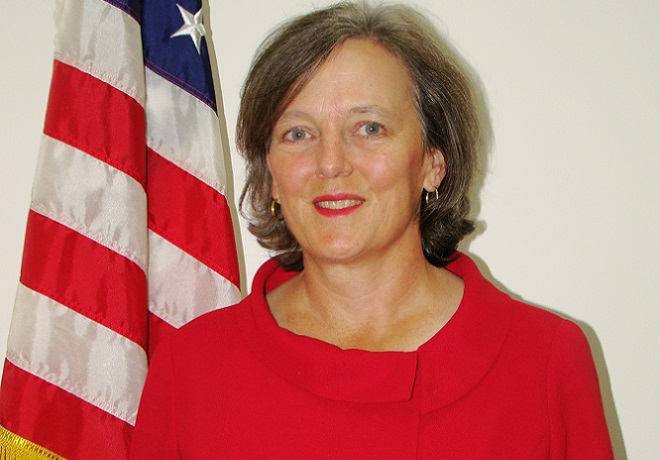 US President Barack Obama on Tuesday, February 24, 2015 nominated Katherine Simonds Dhanani as US ambassador to Somalia, the first in 24 years since the US embassy there closed in 1991 as civil war descended on Somalia. Photo: Courtesy of U.S. State Dept.