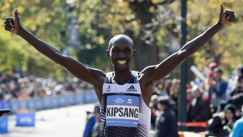 2014 New York Marathon winner, Wilson Kipsang, will hold a running clinic in Minnesota with fellow Kenyan Abel Kirui, two time World Marathon on November 7 and 8 2014, a few days after he runs the 2015 New York Marathon on November 1. The clinic is being hosted by Minneapolis based Warriors Edge Athletics Photo: Courtesy of  Warriors Edge Athletics