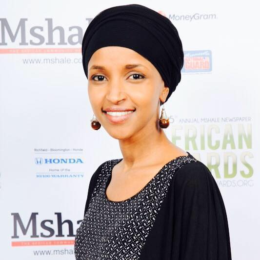 Ilhan Omar, seen here at the African Awards in Minneapolis in October where she was awarded the Community Leadership Award through a community vote, has announced her candidacy for the Minnesota District 60B race. Photo: Mamadou Moustapha Ka for Mshale