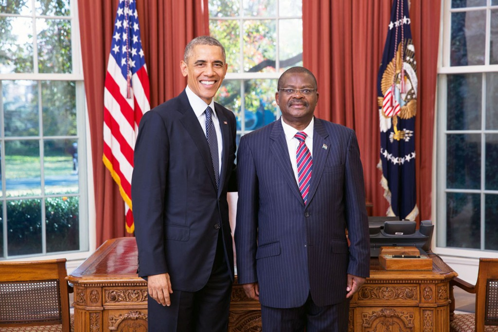 Robinson Njeru Githae, Ambassador of the Republic of Kenya to the United States and Mexico, will keynote the annual Books for Africa fundraising luncheon in Saint Paul, Minnesota on Thursday, May 19, 2016. He is seen here when he presented his credentials to president Barack Obama on November 18, 2014 at the white House. Photo: Official White House Photo by Lawrence Jackson