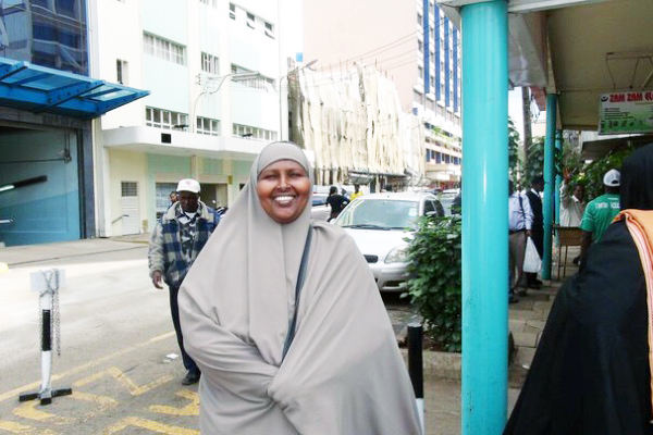 """Considered a hero and known to many as """"mama or sister Abia"""" , Bia Ali died of cancer on May 8, 2016. Photo: Courtesy of GoFundMe"""
