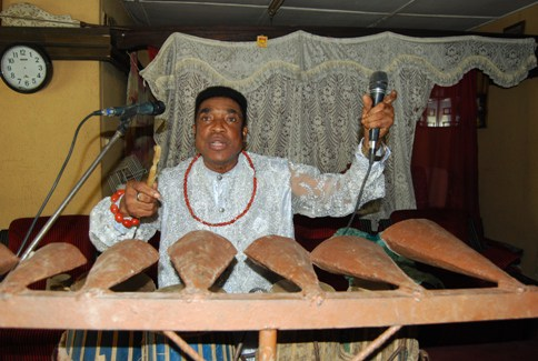 Okpan Arhibo from Nigeria's oil-rich Delta region and the King of Makosa will perform for the first time in Minnesota on Saturday, July 23, 2016 as part of a 15-State US tour. Photo: Courtesy of Urhobo Today