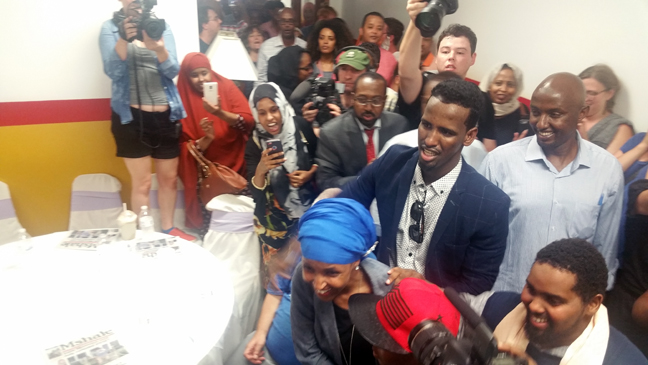 Ilhan Omar triumphs in historical Minnesota primary | MshaleIlhan Omar Primary
