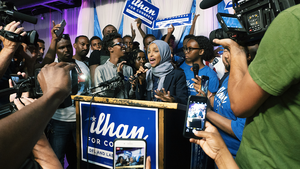 Ilhan Omar wins Democratic primary for US Congress - MshaleIlhan Omar Primary