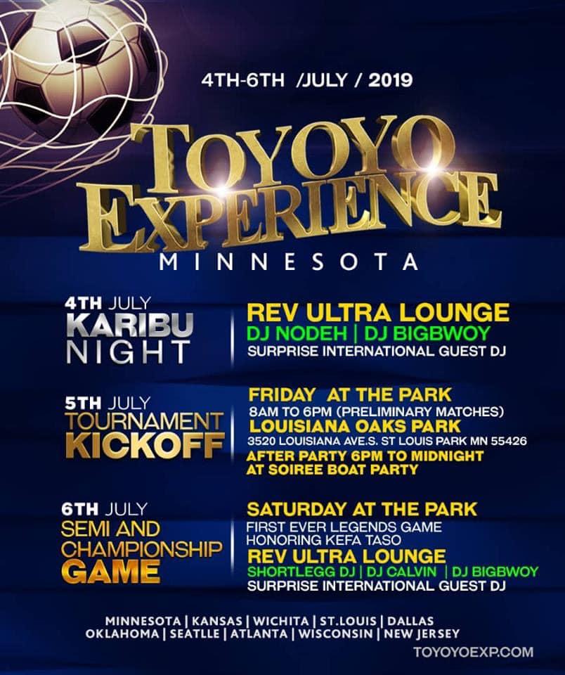 Toyoyo Experience in Minnesota