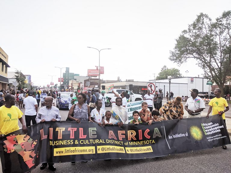 African Day Parade debuts at Little Africa Festival