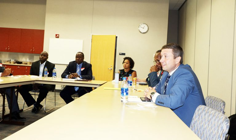 Minnesota Democratic Party chair meets with African leaders