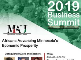 Minnesota African United 2019 Summit