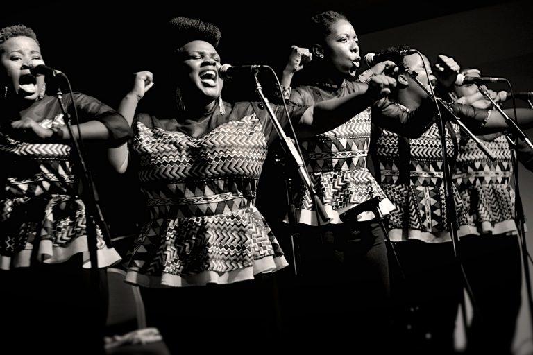Nobuntu from Zimbabwe performing at the Dakota on November 21