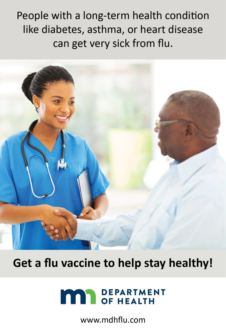 Have a long-term health condition? Get a flu vaccine!