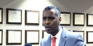 Abdi Warsame Addresing MPHA Board