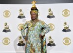Angelique Kidjo at the 62nd Grammy Awards