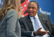 Uhuru Kenyatta in US