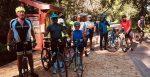 Wynfred with Biking Team